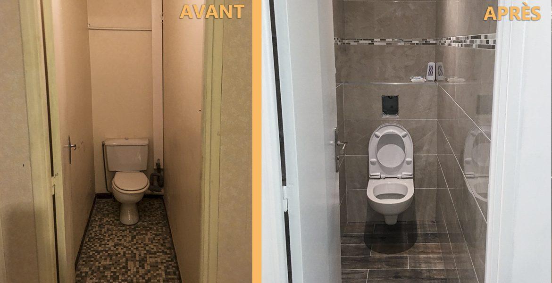 rénovation toilette moderne appartement nice